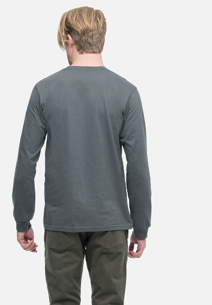 Men's Classic Long Sleeve Organic Tee Shirt | Econscious